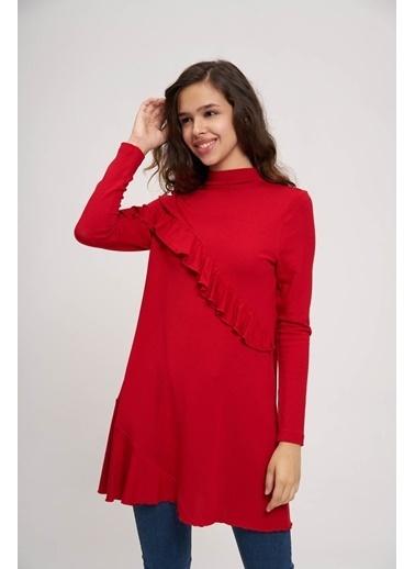 Mizalle Youth Tunik Kırmızı